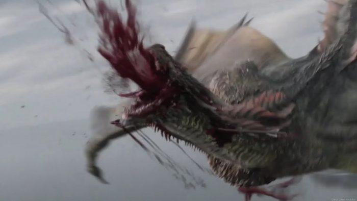 peli o manta. juego de tronos 8x04. dragón muerto