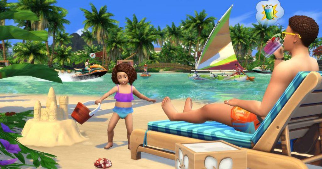 EA en el E3 2019. Sims