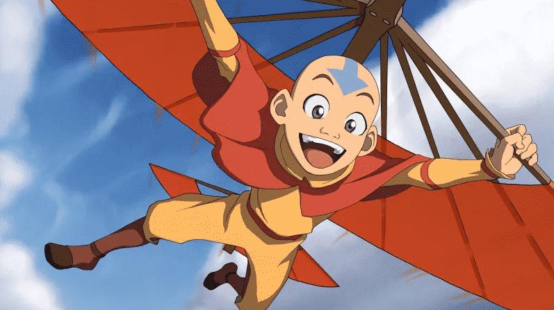 Peli o manta. Avatar, la leyenda de Aang. aang
