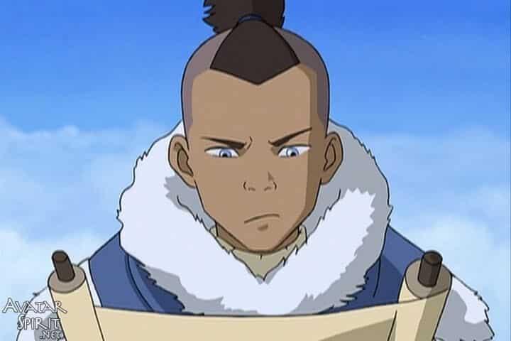 Peli o manta. Avatar, la leyenda de Aang. Sokka