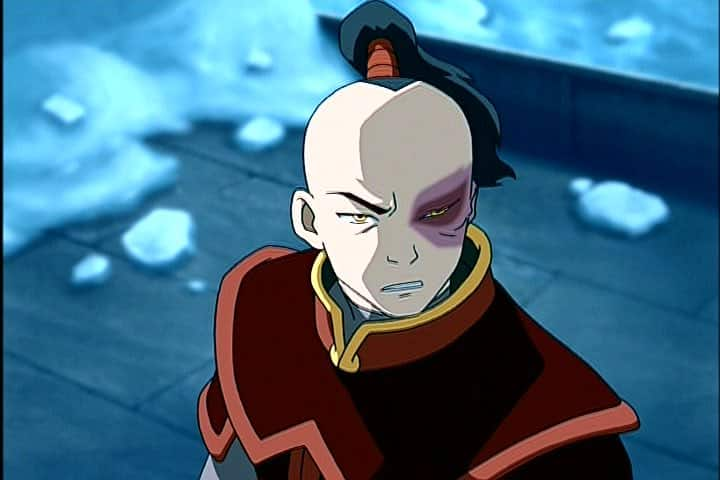 Peli o manta. Avatar, la leyenda de Aang. Zuko