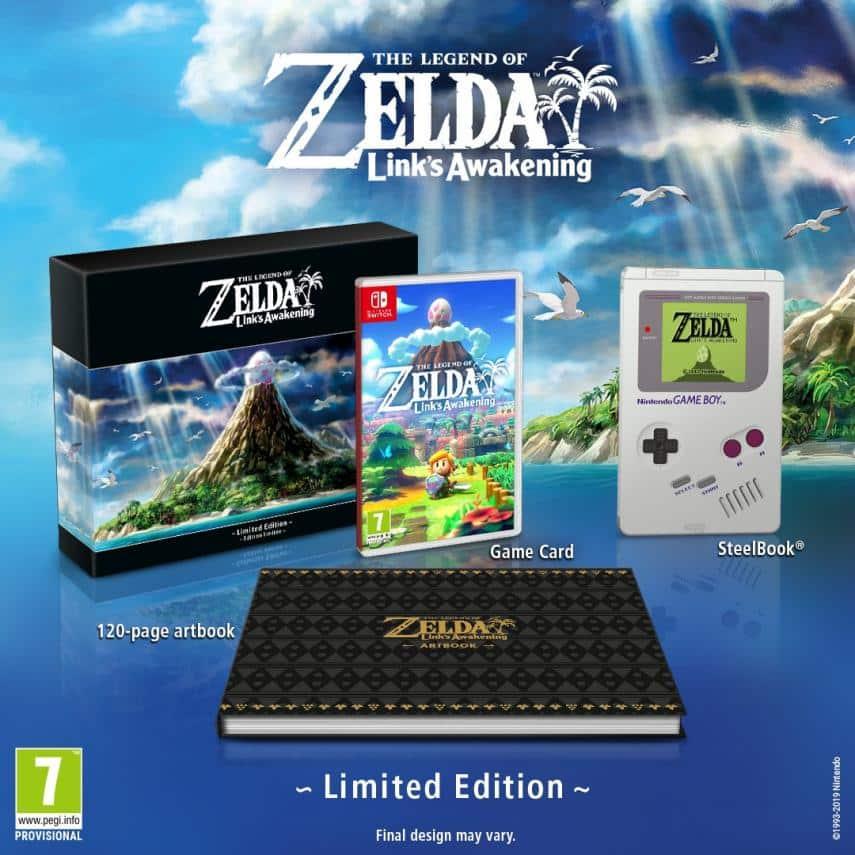 Zelda en el E3 2019. Peli o Manta. Limited edition