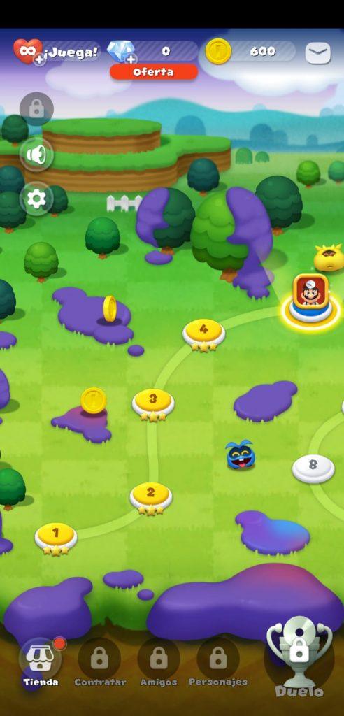 Peli o Manta. Dr Mario World. 4