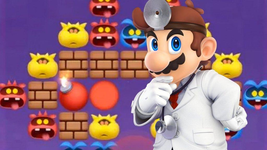 Peli o Manta. Dr Mario World. Mario