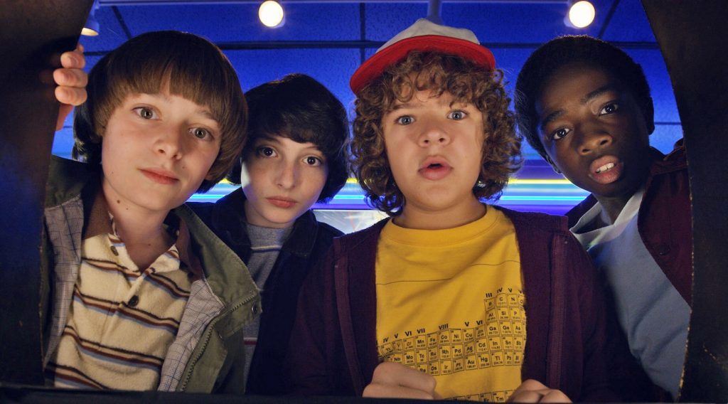 Peli o Manta. Resumen Stranger Things 2. kids
