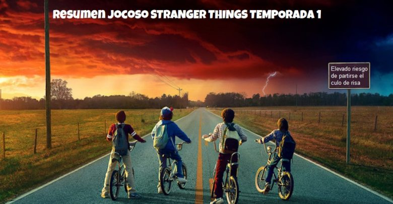 Resumen Stranger Things 1. Peli o Manta. Resumen Temporada 1 Stranger Things 1