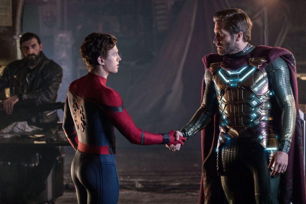 Spiderman lejos de casa. Peli o Manta. Mysterio y Spiderman