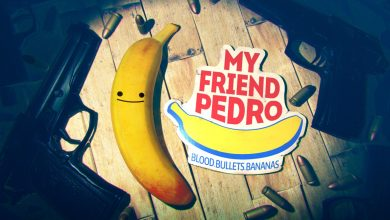 peli o manta. my friend pedro. logo