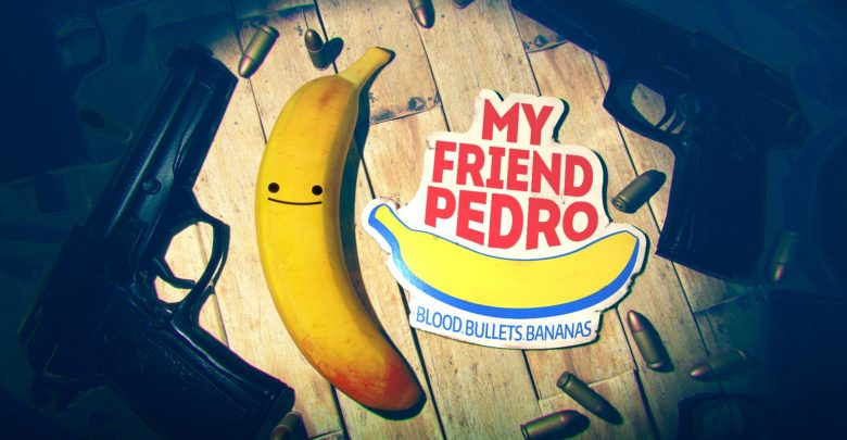 peli o manta. my friend pedro. logo