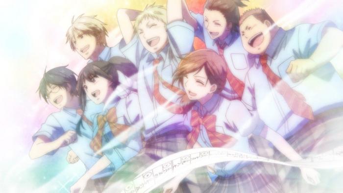Peli o Manta, Nuevos Animes Otoño 2019. Estudiantes sonriendo