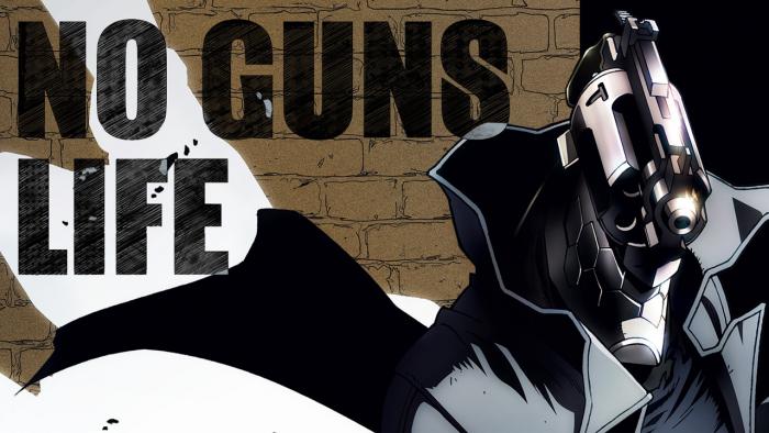 Peli o Manta, Nuevos Animes Otoño 2019. Hombre con cabeza de pistola