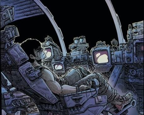 Peli o Manta. Alien órbita muerta. Prota
