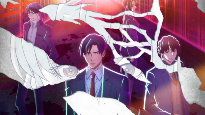 Peli o Manta. Nuevos Animes Otoño 2019. Hombres en traje