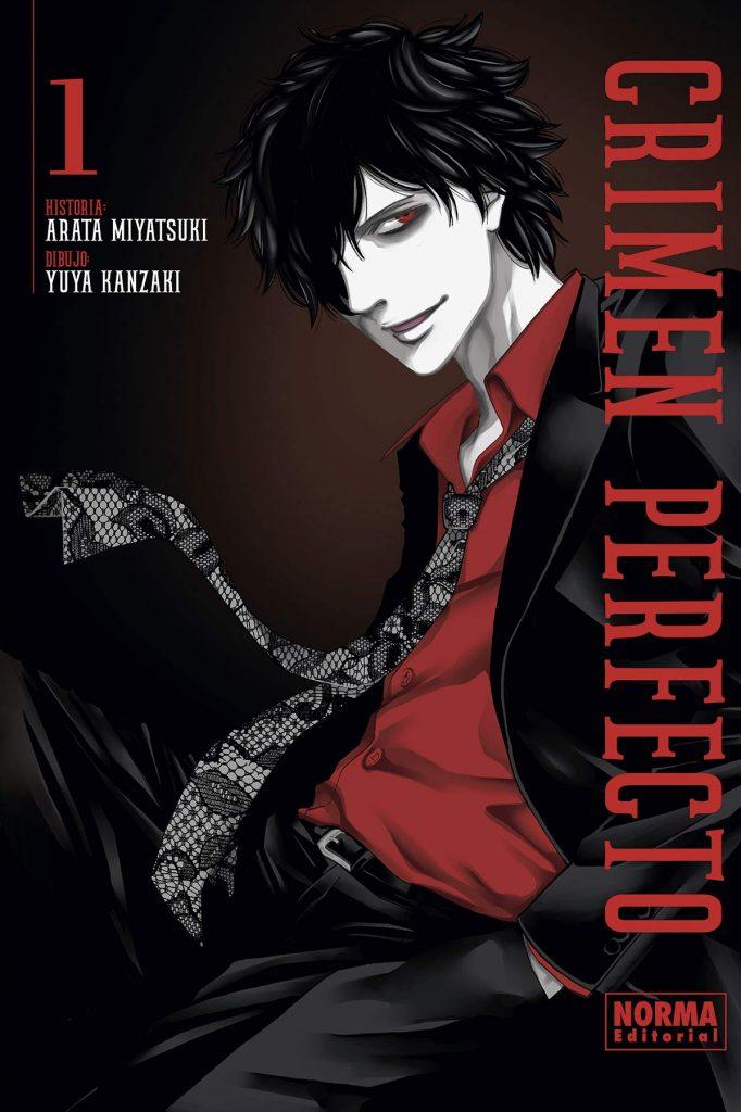 Peli o manta. Crimen perfecto manga. portada tomo 1
