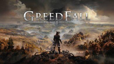 peli o manta. GreedFall. logo