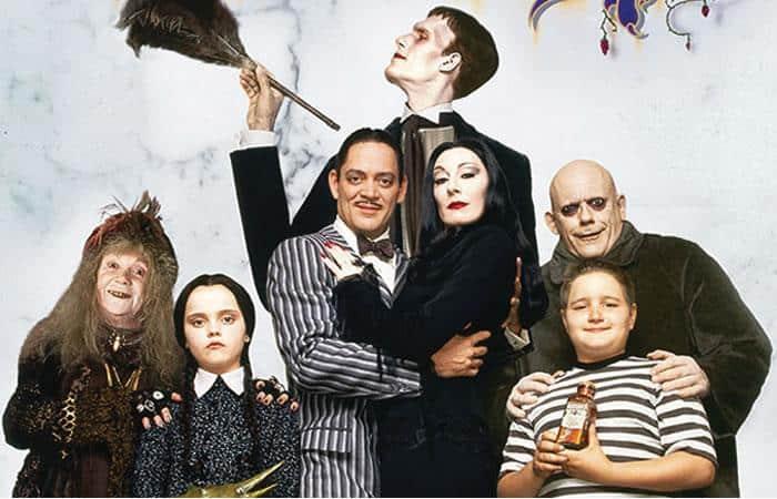 Peli o Manta. La Familia Addams. 1991