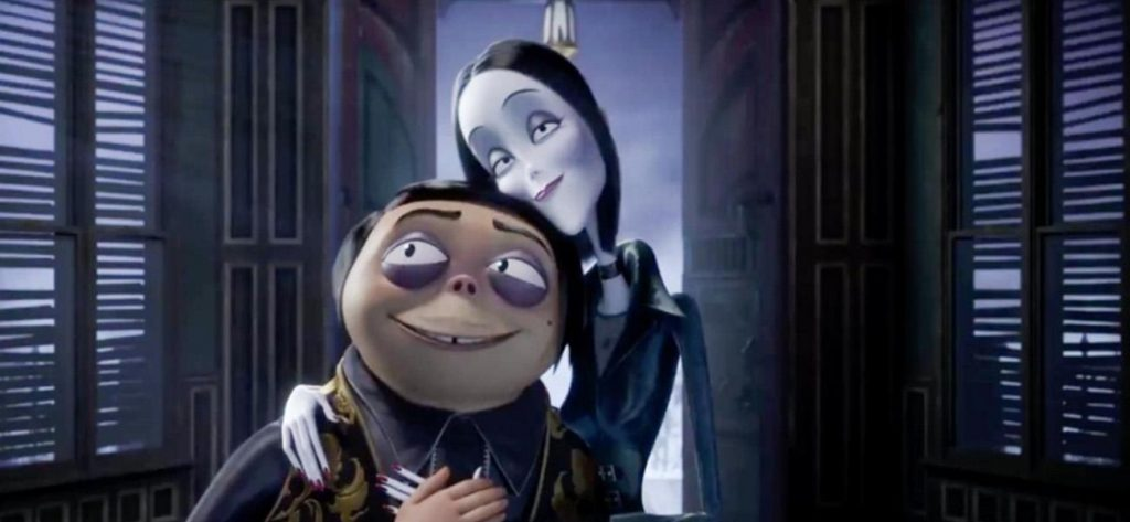 Peli o Manta. La Familia Addams. Gómez Morticia