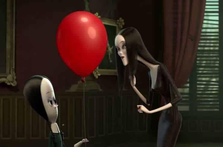 Peli o Manta. La Familia Addams. Miercoles Morticia