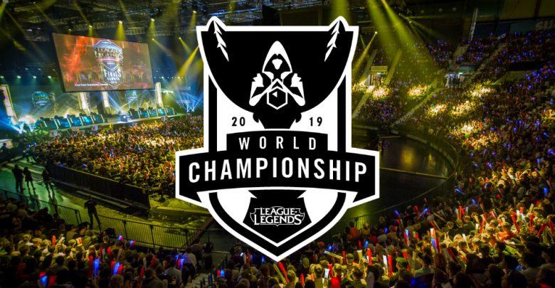 equipos del mundial de LOL 2019. Peli o Manta. Cartel