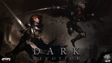 peli o manta. Dark Devotion. logo