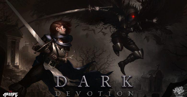 peli o manta. Dark Devotion. logo