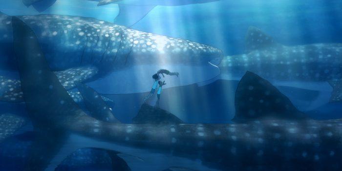 peli o manta. los niños del mar. ballenas