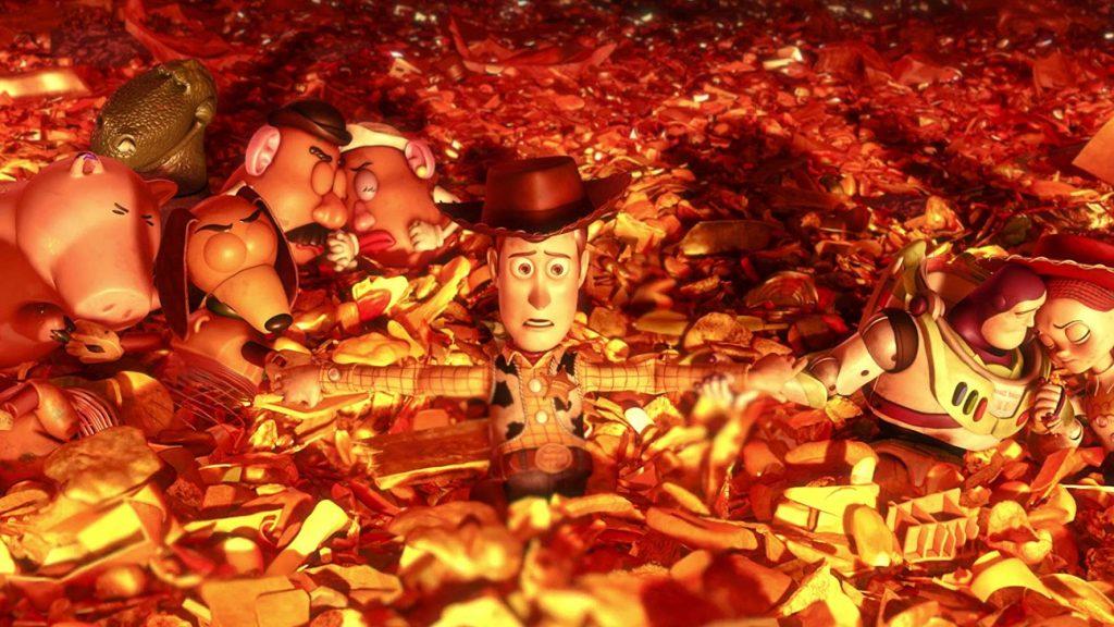 Peli o manta. Década. Toy Story 3