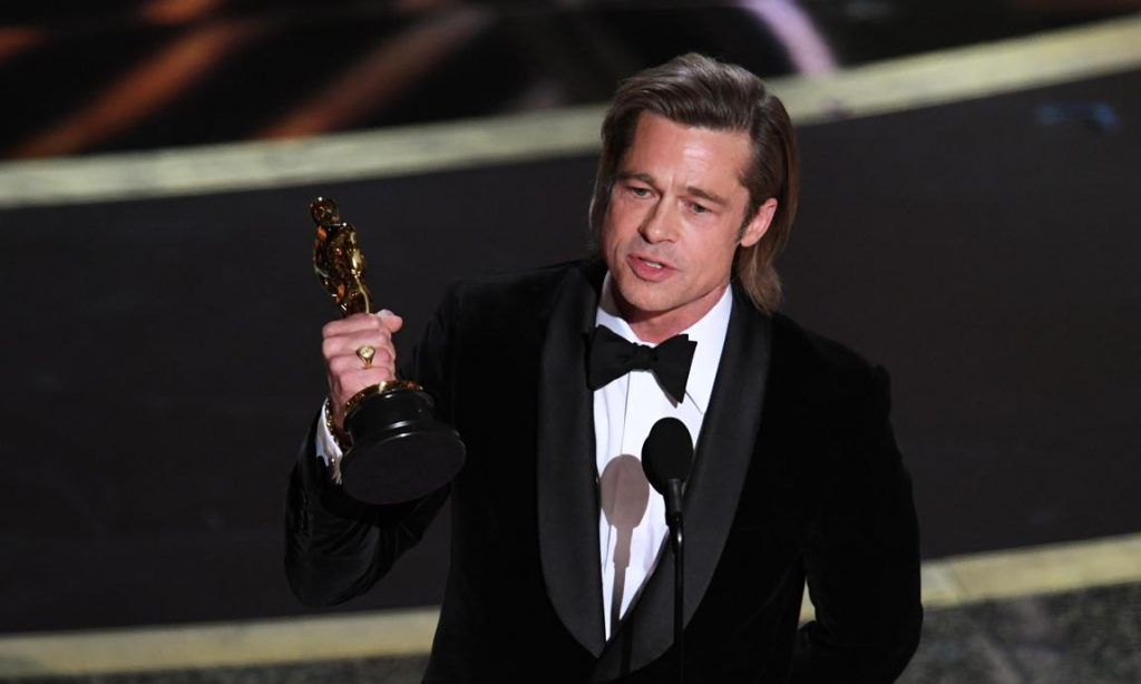 Peli o manta. Oscars 2020. Pitt