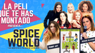 Spice World. La peli que te has montado. Cartel