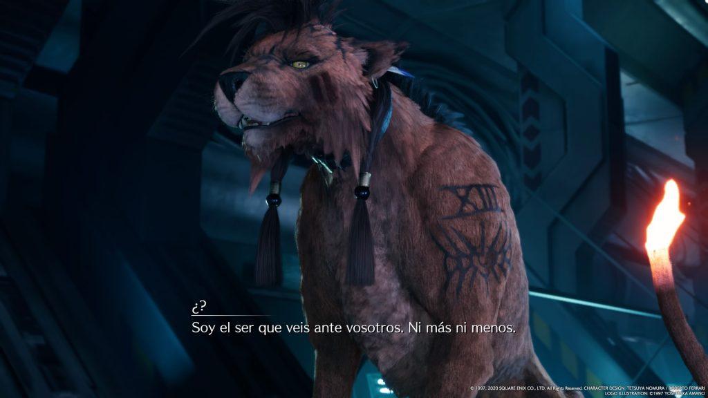 Red XIII, al que nosotros llamamos cariñosamente el Charmander de Final Fantasy VII
