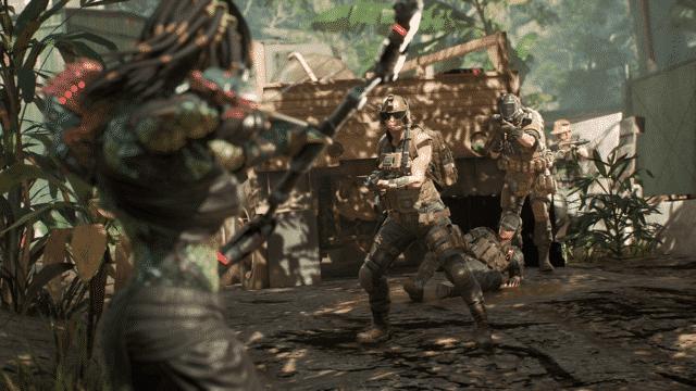 El predator enfrentándose a caraperro contra el escuadrón. Yo creo que le van a petar (ahora sí)