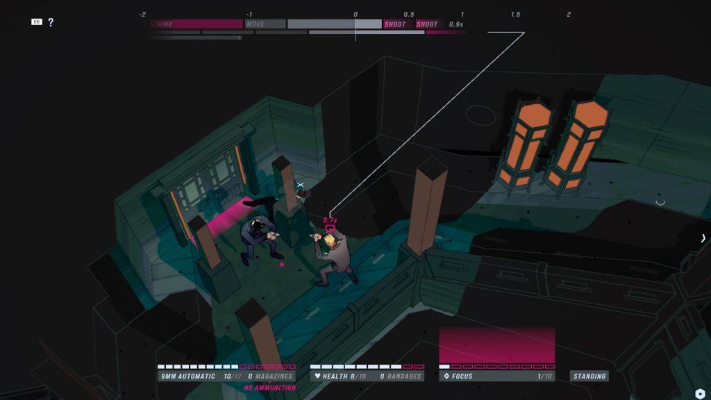 La mayoría de la acción ocurre en lugares recurrentes de las películas: clubes nocturnos, pasillos, etc. Review John Wick Hex