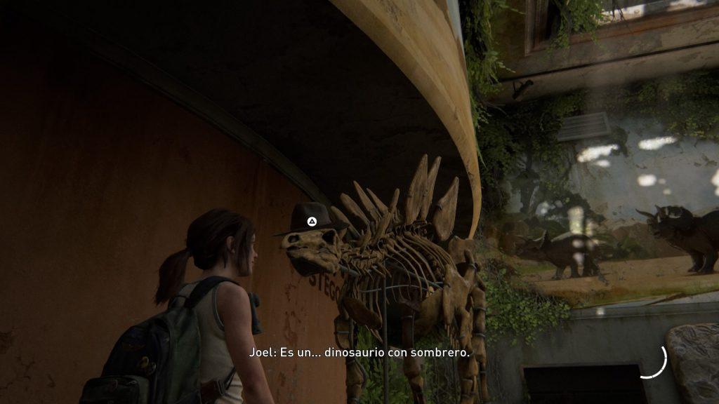 Sombrerosaurio :D en la Review The Last of Us 2