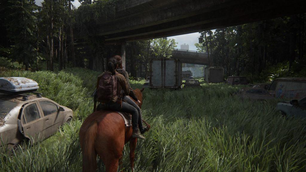 Gran parte del juego la pasaremos a lomos de nuestro querido Shimmer Review The Last of Us 2