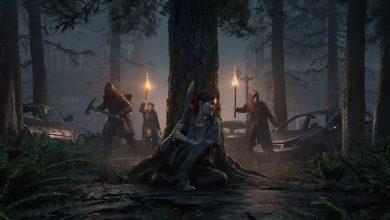 Porta de la review the last of us 2. Ellie se esconde de unos atacantes