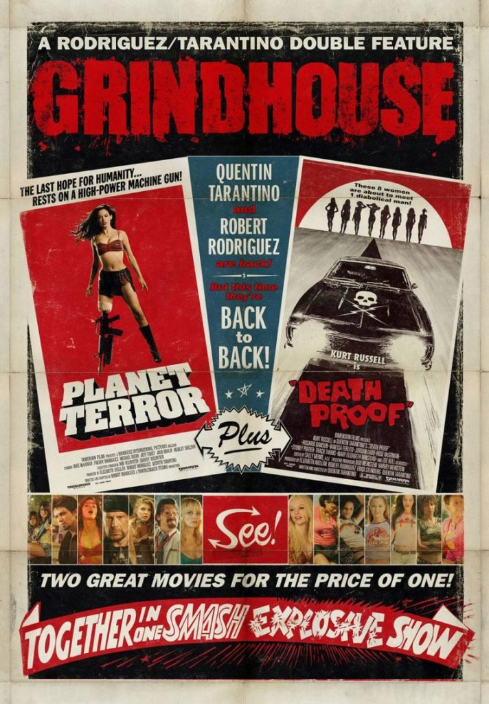 Planet Terror y Death Proof Palacio de la Prensa cartelera julio 2020