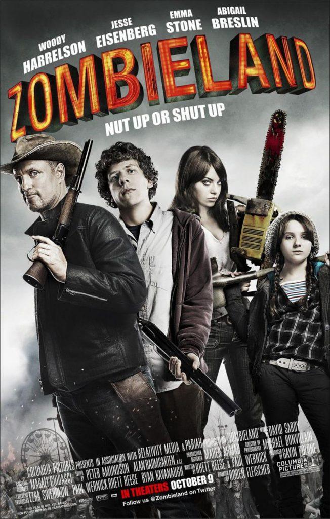 Zombieland en Palacio de la Prensa cartelera julio 2020