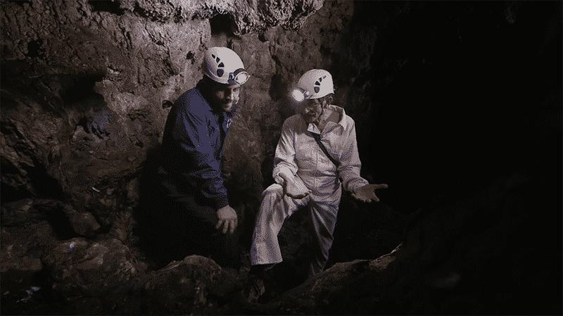 Peli o Manta. Dorothea y el Myotragus. Paleontólogos