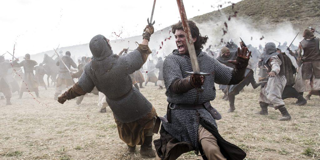 El Cid en plena batalla