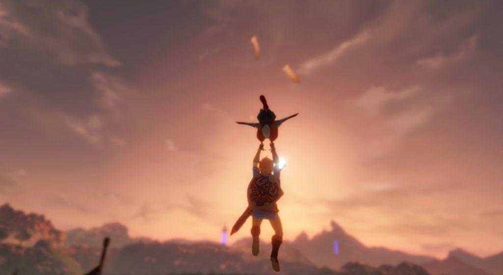 Vuela alto, pollito! Que nos caemos!  Review Hyrule Warriors La Era del Cataclismo