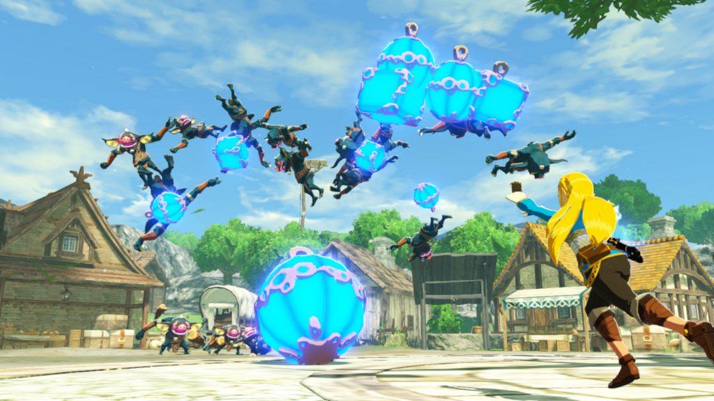 Zelda no es precisamente una princesa desvalida. Review Hyrule Warriors La Era del Cataclismo