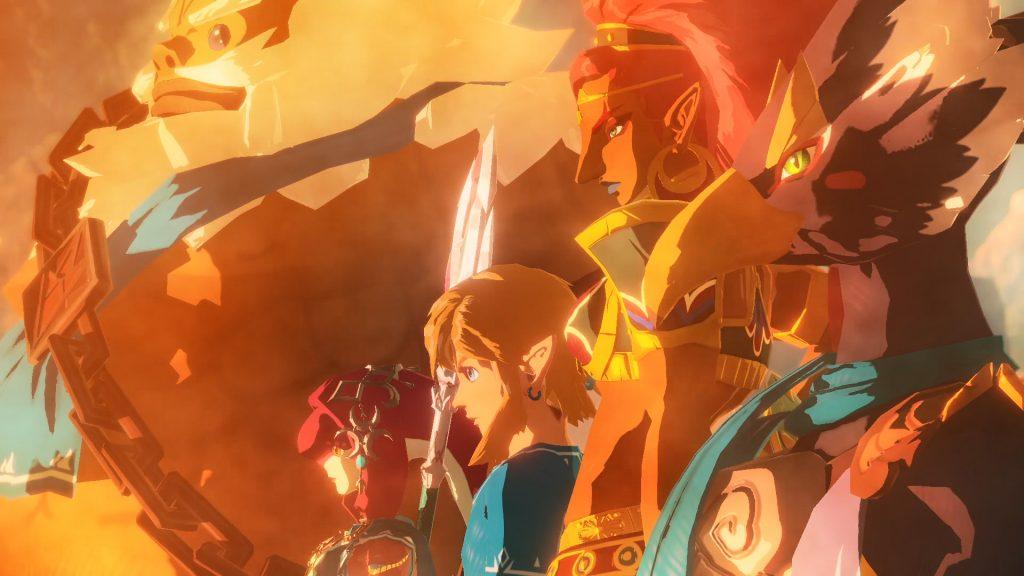 Los Elegidos que derrotarán al mal  Review Hyrule Warriors La Era del Cataclismo