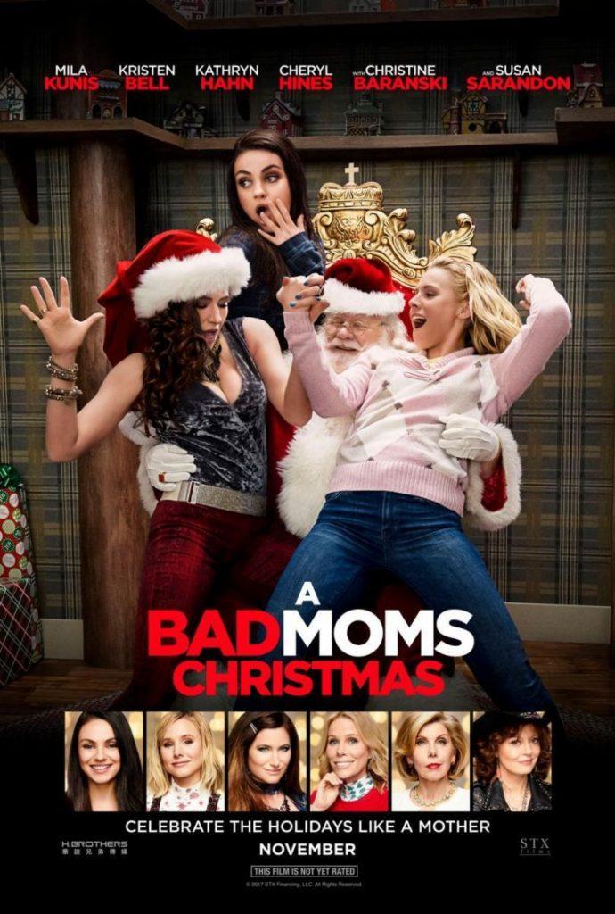 Puede verse el cartel de la película El gran desmadre, una de las opciones de esta Recopilación de películas navideñas.