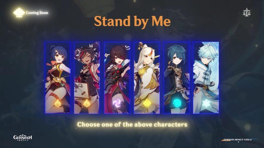 ¿A qué personaje de los 6 posibles escogerás? Podrás conseguirlos en uno de los eventos disponibles en Genshin Impact: El festival de las linternas