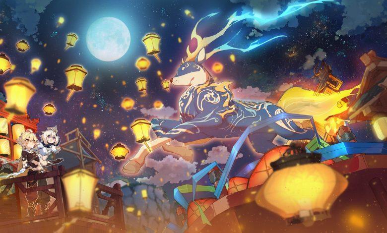 El festival de las linternas de Liyue