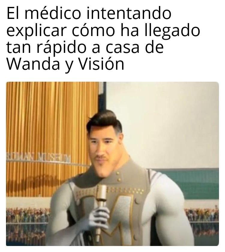 Memes WandaVision 3. Peli o Manta. El médico de Wanda