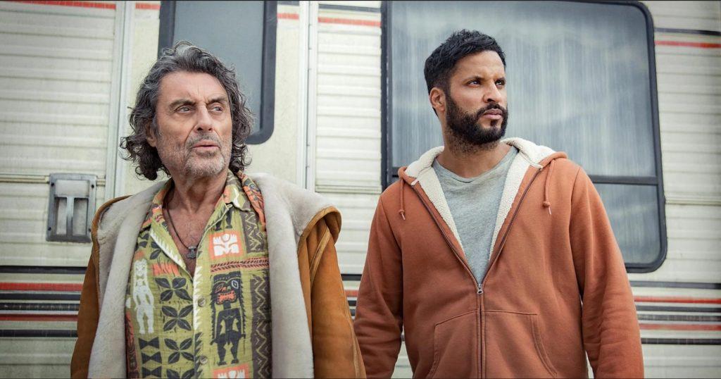 El padre de todos con skin veraniega. Y Shadow con pelo. ¿qué más se puede pedir? American Gods temporada 3 pinta guapa, ¿eh?
