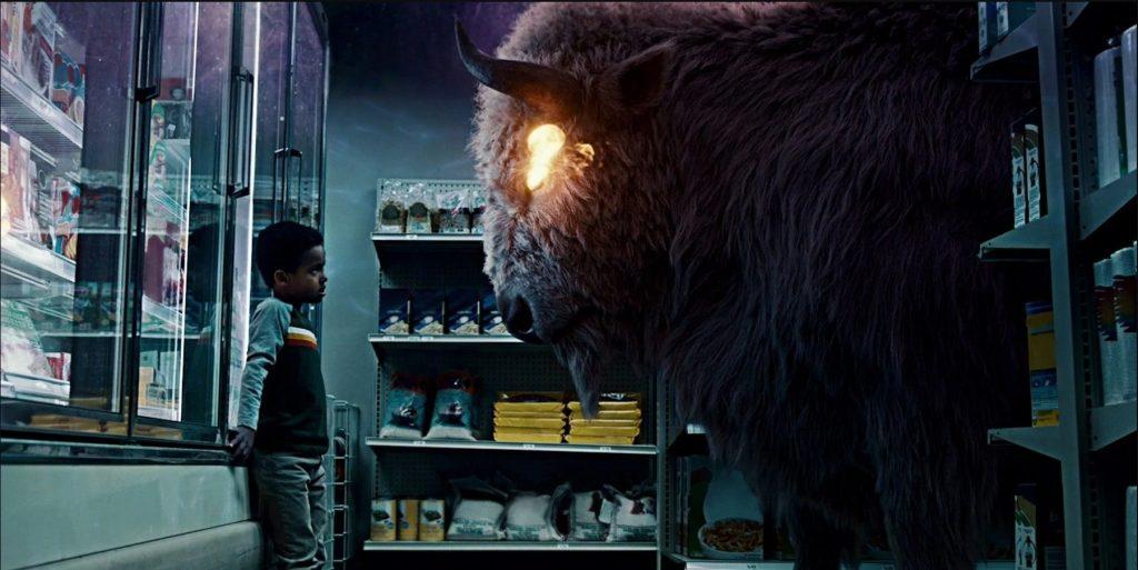 Un buffalo, un chaval y Odín entran en un supermercado... No es un chiste, es American Gods temporada 3