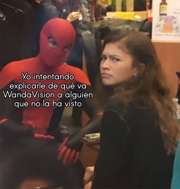 Peli o manta. Análasis WandaVision capítulo 5. Meme 2