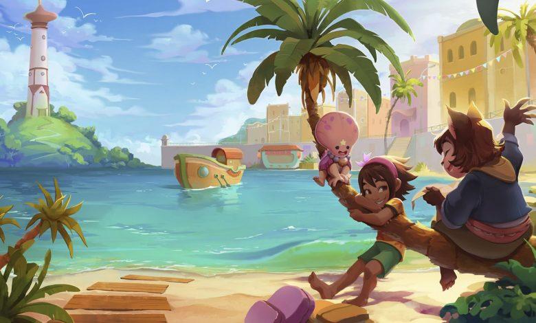Koa y sus amigos junto al mar
